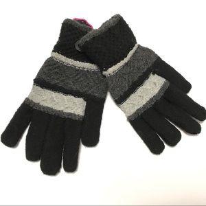Nollia Women's Gloves Ladies Knitted Gloves Gray